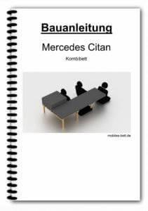 Bauanleitung - Mercedes Citan Kombibett