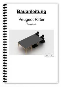 Bauanleitung - Peugeot Rifter Doppelbett