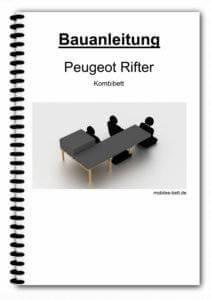 Bauanleitung - Peugeot Rifter Kombibett
