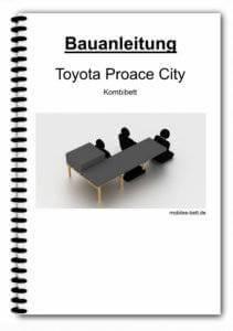 Bauanleitung - Toyota Proace City Kombibett