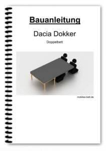 Bauanleitung - Dacia Dokker Doppelbett