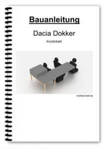 Bauanleitung - Dacia Dokker Kombibett