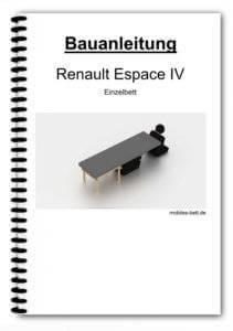 Bauanleitung - Renault Espace IV - Einzelbett