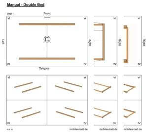 Construction Manual Double Bed