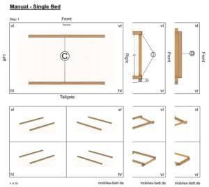 Construction Manual - Single Bed
