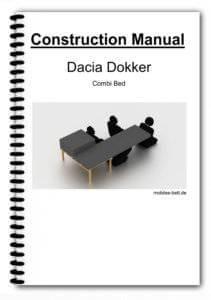 Cover Dacia Dokker Combi Bed