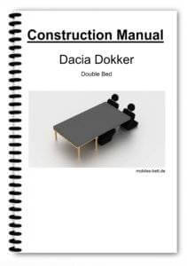 Cover Dacia Dokker Double Bed