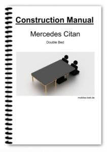 Cover Mercedes Citan Double Bed