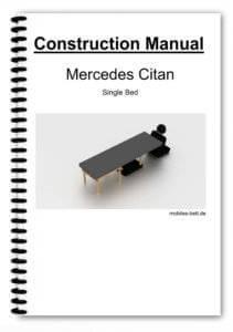 Cover Mercedes Citan Single Bed