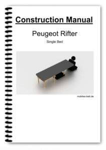 Cover Peugeot Rifter Single Bed