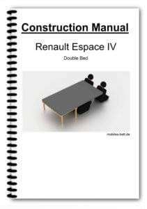 Cover Renault Espace IV Double Bed