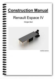 Cover Renault Espace IV Single Bed