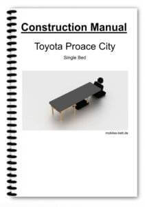 Cover Toyota Proace City Single Bed
