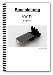 Bauanleitung - VW T4 Doppelbett