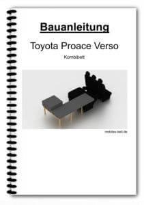 Bauanleitung - Toyota Proace Verso Kombibett