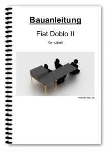 Bauanleitung - Fiat Doblo II Kombibett