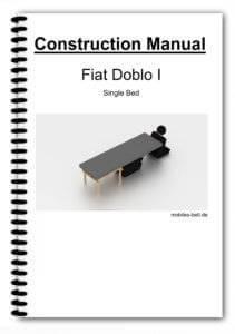 Cover Fiat Doblo I Single Bed