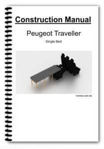 Construction Manual - Peugeot Traveller Single Bed