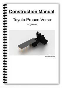 Construction Manual - Toyot Proace Verso Single Bed